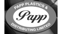 Logotipo de Papp Plastics and Distributing Limited